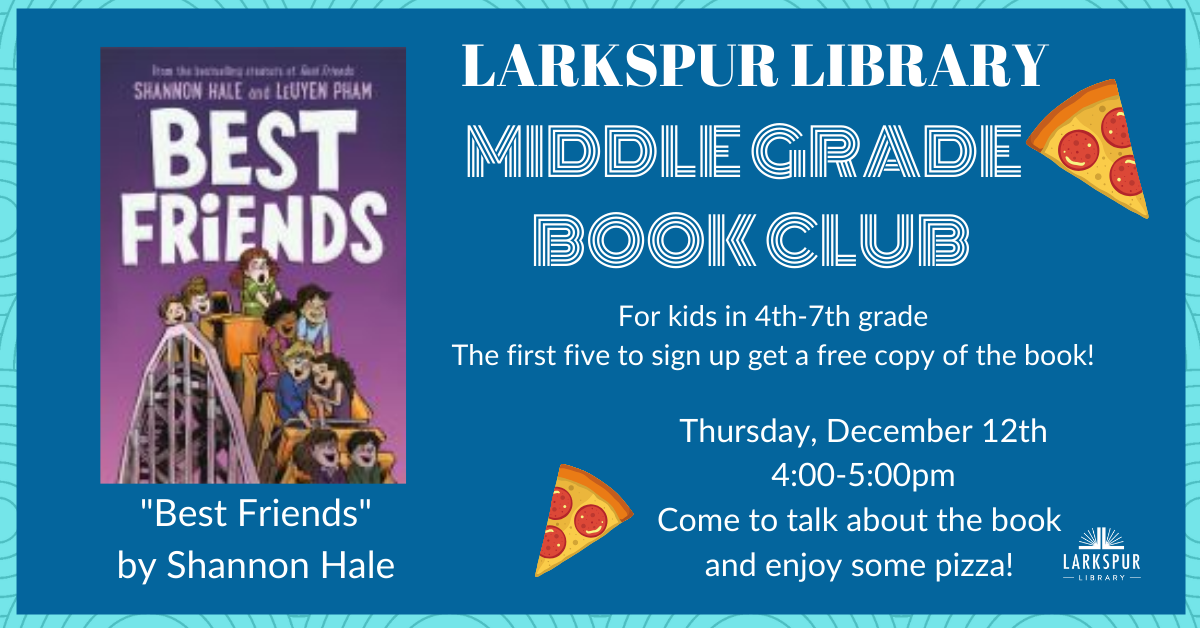 Middle Grade Book Club December