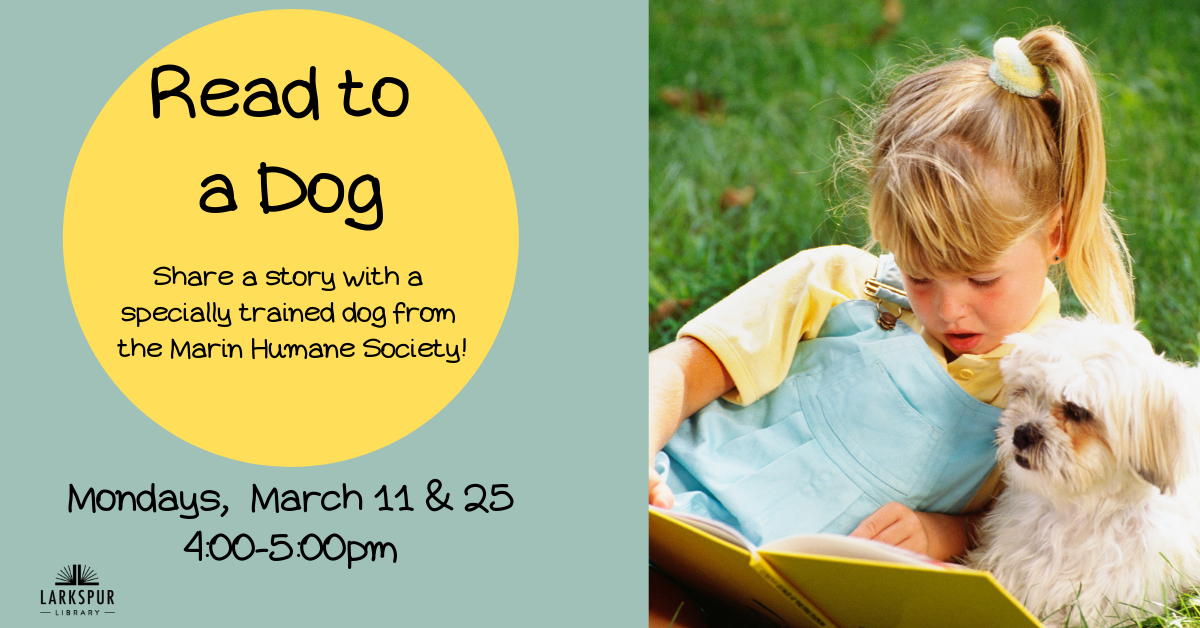 _Read to a Dog March Calendar