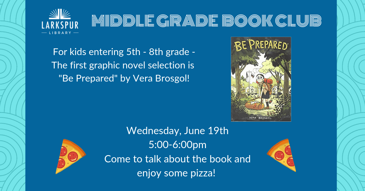Middle Grade Book Club June Calendar
